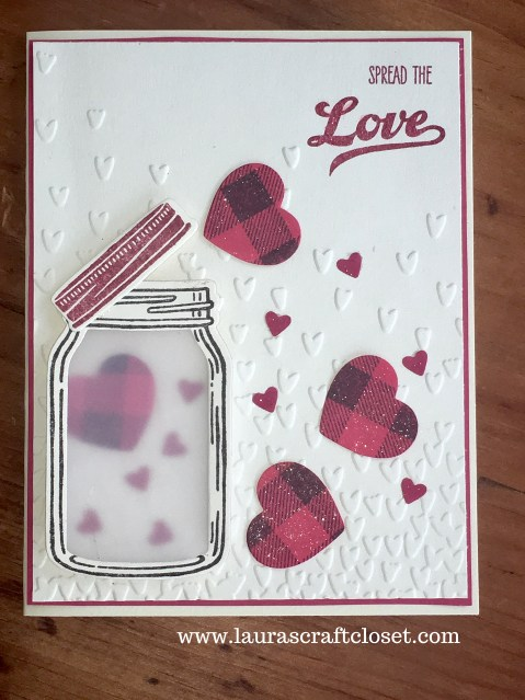 valentine with jar of hearts