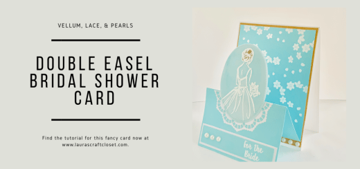 Double easel bridal shower card twitter