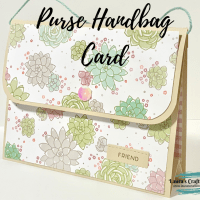 10 Minute Mother's Day Handbag Purse Card!