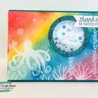 Octopus Shaker Card