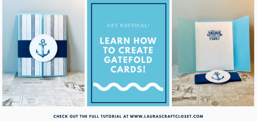 Nautical Gatefold Card Twitter