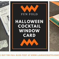 Halloween Cocktail Window Card for the Mummies!
