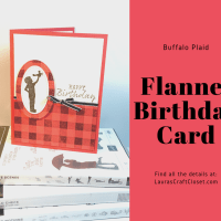 Flannel Birthday Card for a Fun Kid