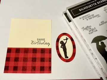 Buffalo plaid kid birthday step 2