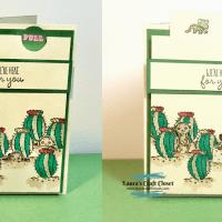 Meerkat Pull-Up Card
