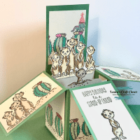 Meerkat Pop-Up Box Card