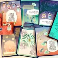 Side Step Summer Card : July Paper Pumpkin Alternatives
