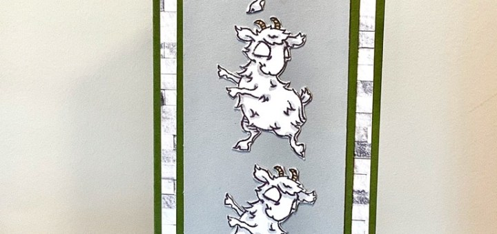 Dancing goats slim card
