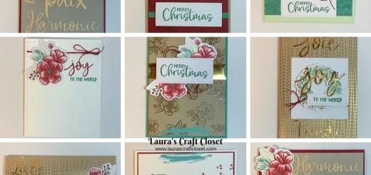 Paper pumpkin alternatives christmas holiday October 2020 cards