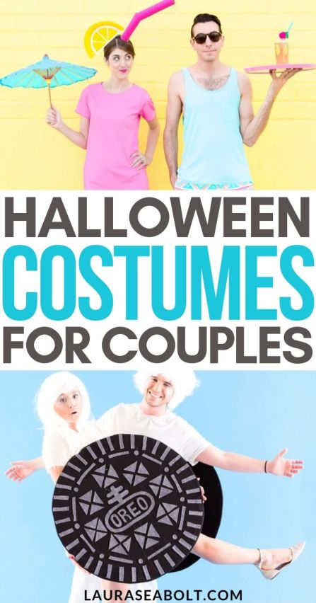Halloween Costumes for couples pin