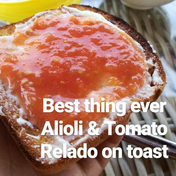 tomato relado alioli