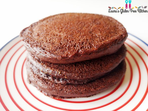 Gluten free Hot Chocolate Pancakes
