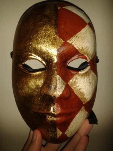 My mum's mask