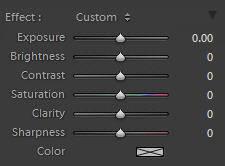 lightroom adjustment brush graduated filter settings