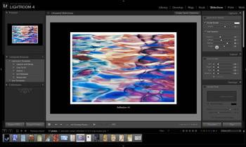 Lightroom Slideshow Module