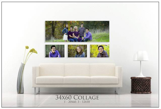 Includes both the couch photograph and the print template for making the wall art.