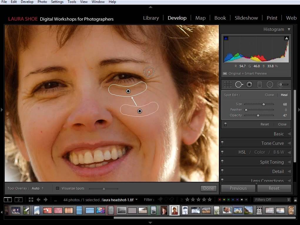 Lightroom Retouch Portrait