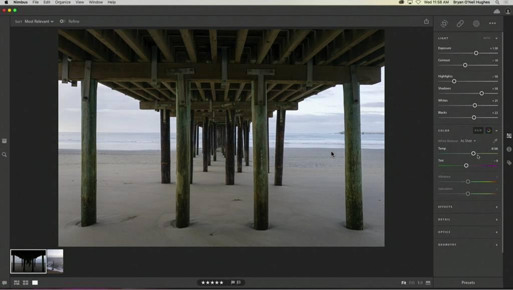 Adobe Project Nimbus Editing