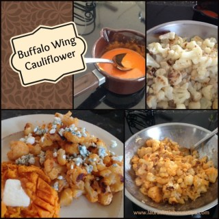 Roasted Buffalo Wing Cauliflower Recipe