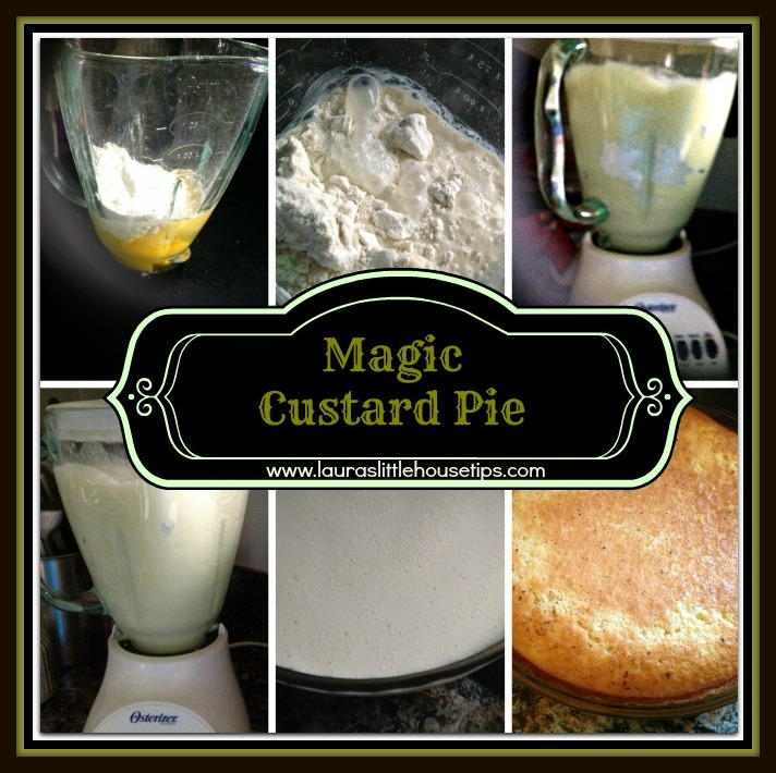 Magic Custard Pie
