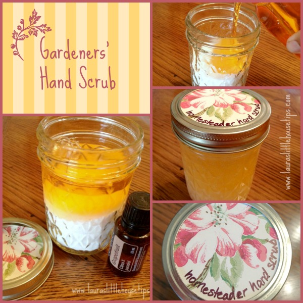 Gardeners' Hand Scrub - DIY Gift For Farmers, Homesteaders and Gardeners