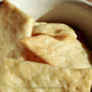 Sourdough Parmesan Garlic Cracker Recipe