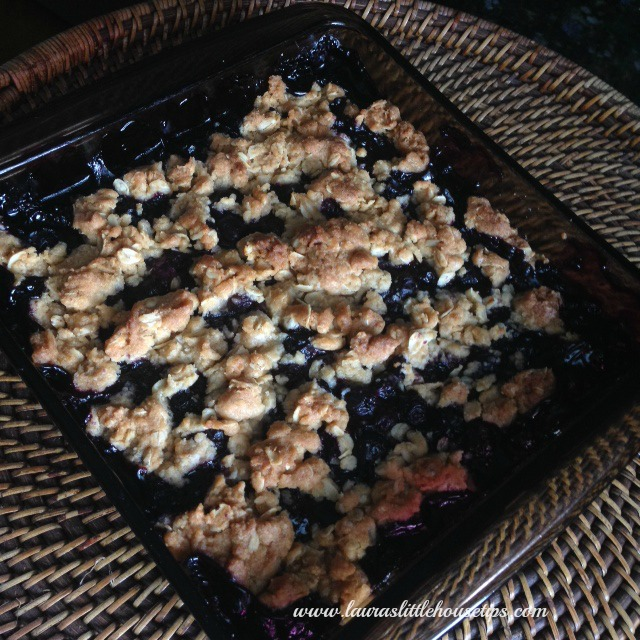 Blueberry Crisp Recipe - Berries Bring Easy Desserts To The Table