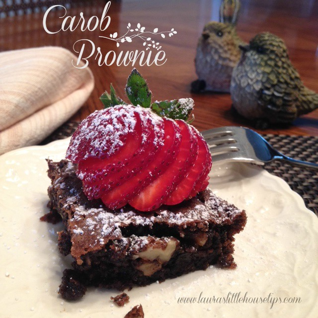 Carob Brownie Recipe