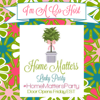 Home Matters Linky Party #57!