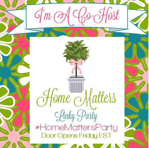 Home Matters Linky Party #57 #HomeMatters