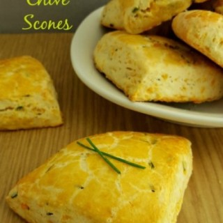 Cheddar and Chive Scones