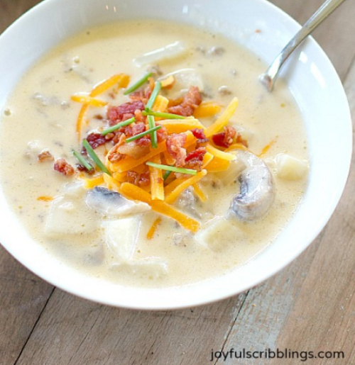 Hearty Potato Sausage Soup