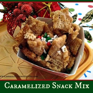 Caramelized Snack Mix