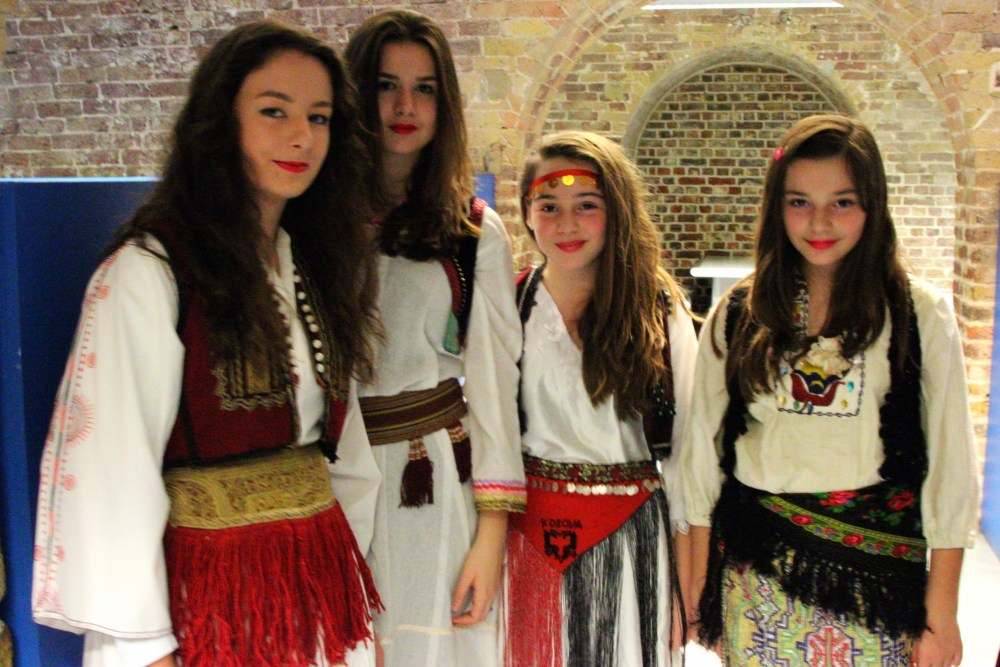 Albanian traditional costumes at the British museum (1/6)