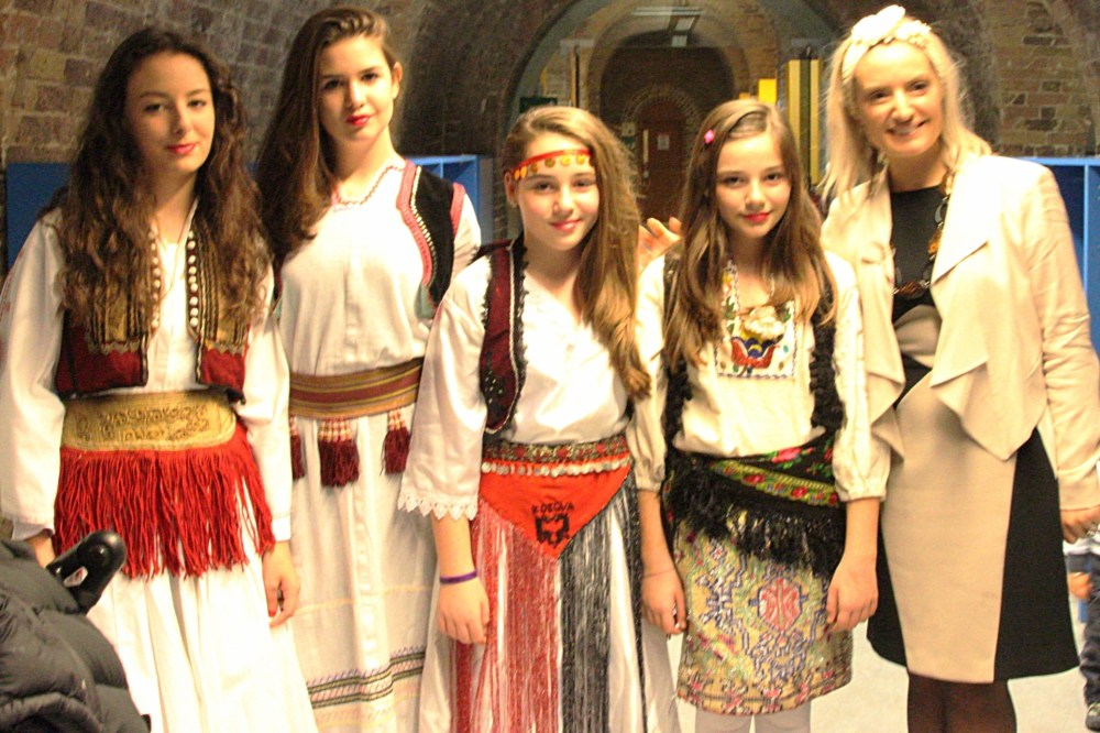 Albanian traditional costumes at the British museum (2/6)