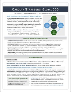 Corporate COO Resume by Laura Smith-Proulx