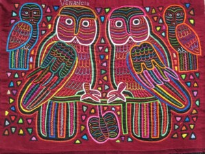 Venancio's Four Owls Original Molas