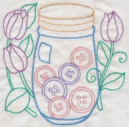 Sewing In Stitches - Button Stash