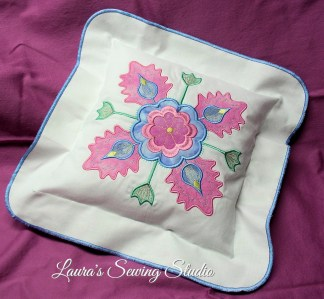 Fantasy Applique Pillow