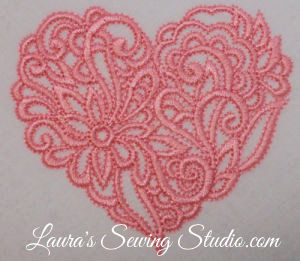 Lacy Hearts 4-Inch