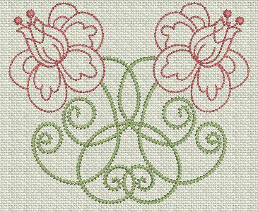 Filigree Flowers No. 1