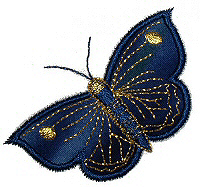 Butterflies Applique No. 3