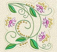Delicate Florals No. 9