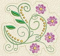 Delicate Florals No. 11