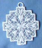 Hardanger Ornaments - Snowflake