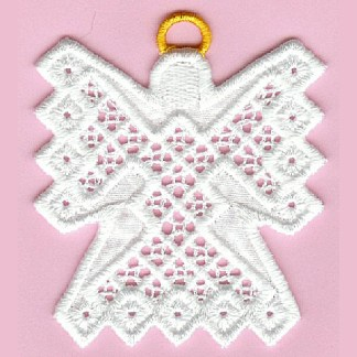 Hardanger Angel - Hardanger Ornaments Collection
