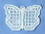 Hardanger Ornaments - Butterfly
