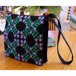 Midnight Periwinkle Purse Project