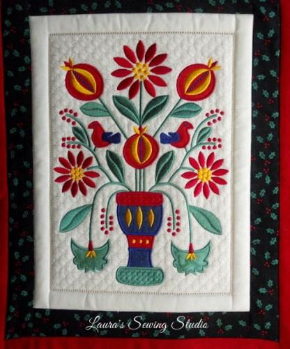 Poinsettias & Pomegranates Banner Project