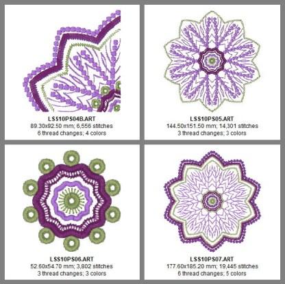 Ten-Point Star Design Details, Page 2